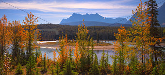 Bow River Panorama