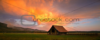 Blazing Barn in Northern California
