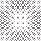 Geometric black and white minimalistic pattern.