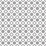 Geometric black and white minimalistic pattern.