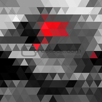 Abstract vector polygons background