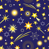 Seamless pattern from different stars