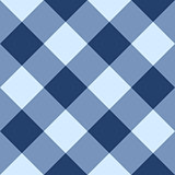 Blue checkered seamless background