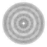 Abstract circle pattern.