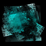 grunge background 02 blue-black 02