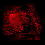 grunge background 02 rad-black