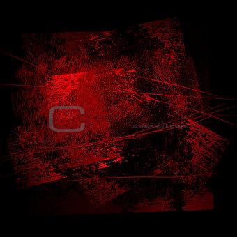 grunge background 02 rad-black