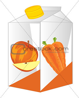 Box with juice
