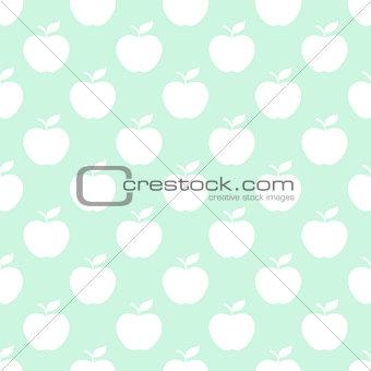 Apple light seamless pattern background