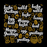 Happy Easter Calligraphy Design