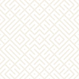 Geometric Ethnic Background Lattice. Stylish Subtle Texture. Vector Abstract Seamless Pattern.
