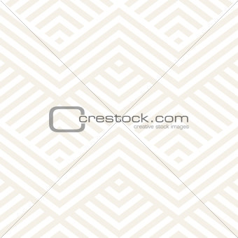 Abstract ZigZag Parallel Stripes. Vector Seamless Pattern. Repeating Subtle Background