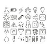 electrick icon set