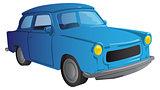Cartoon 90s European car
