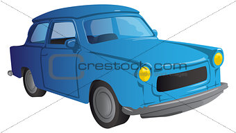Cartoon 90s European car