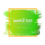 Abstract Brush Stroke Designs Texture with Frame. Can be used fo