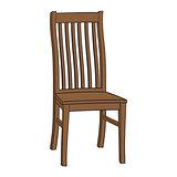 Isolated Cartoon Chair