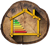 Energy Efficiency - Project of Ecological Wooden House