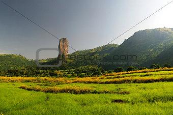 Agriculture landscape in Ethiopia
