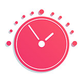 Mechanical Clock Icon