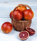 Blood Orange in Basket