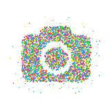 Icon Camera circles
