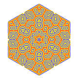 Ornamental Pattern. Creative Decorative Symbol
