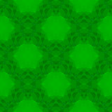 Green Seamless Polygonal Pattern
