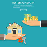 buy rent real estate