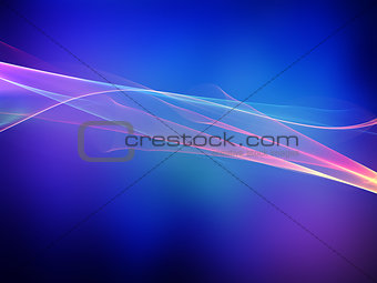 Abstract background with flowing lines