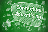 Contextual Advertising - Business Concept.