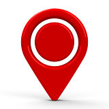 Red map pointer dot #2