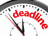 Clock dial deadline