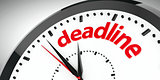 Clock dial deadline #2