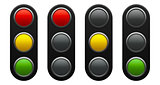 Traffic light schematic