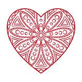 Doodle Heart Card
