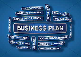 An illustration of a business plan