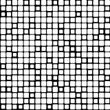 Background of black white mosaic