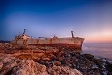 Ship wreck EDRO III in Cyprus