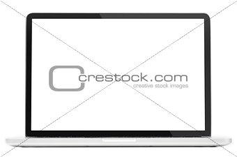 Modern laptop computer