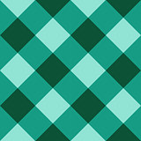 Green checkered diagonal seamless background