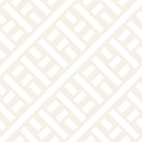 Interlacing Lines Subtle Lattice. Ethnic Monochrome Texture. Vector Seamless Black and White Pattern.