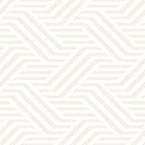 Vector Seamless Pattern. Modern Stylish Interlacing Lines Texture. Geometric Striped Ornament.