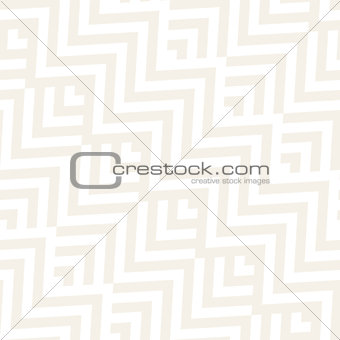 Abstract ZigZag Stripes. Stylish Ethnic Ornament. Vector Seamless Pattern. Repeating Subtle Background