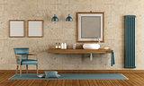 Elegant bathroom with washbasin