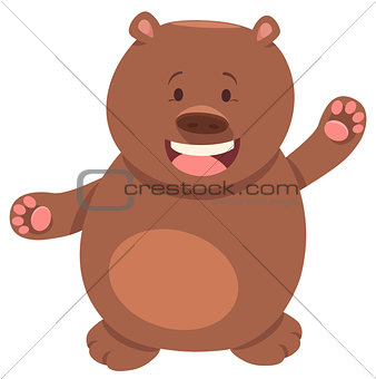 bear or teddy animal character