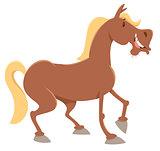 horse farm animal character