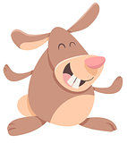 funny rabbit cartoon character