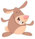funny rabbit cartoon character