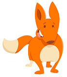 cartoon fox animal character